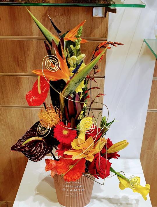 Guirlande /à Suspendre Composition Florale Artificielle Chute de Fleurs Blanches artificielles Jasmin /étoil/é Ligne D/éco 120cm D/écoration dint/érieur Maison Bureau